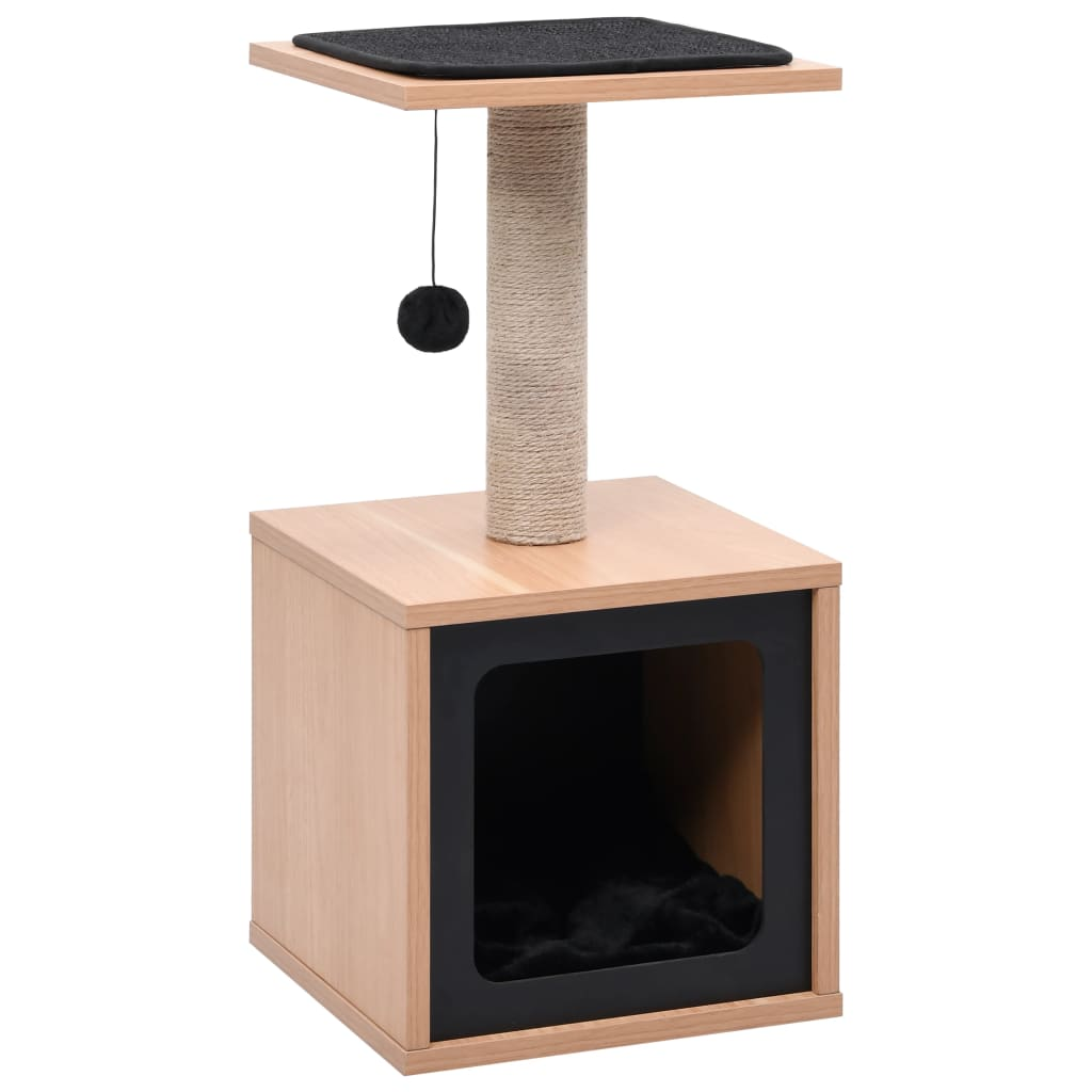 Cat Tree with Sisal Scratching Mat 62 cm