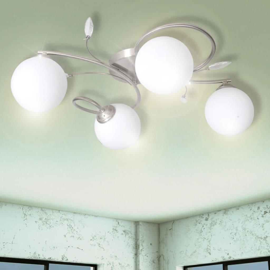 Потолочные светильники Прозрачные акриловые листы и плафоны для 4 лампочек G9