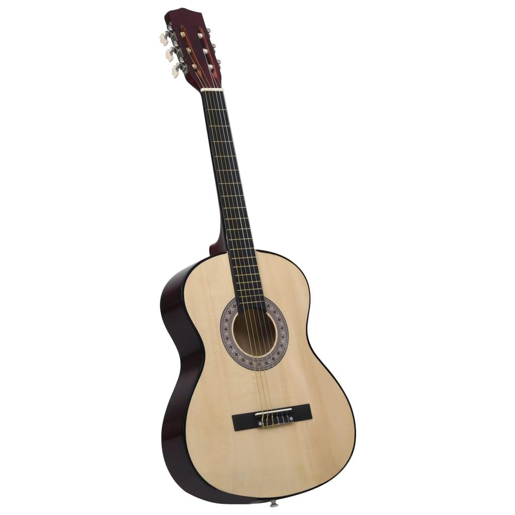 Klasszikus akusztikus gitár kezdőnek 4/4 39 Basswood