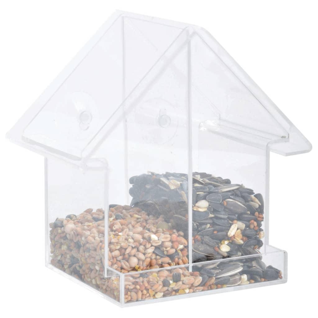 Esschert Design Combi Window Feeder House Acrílico