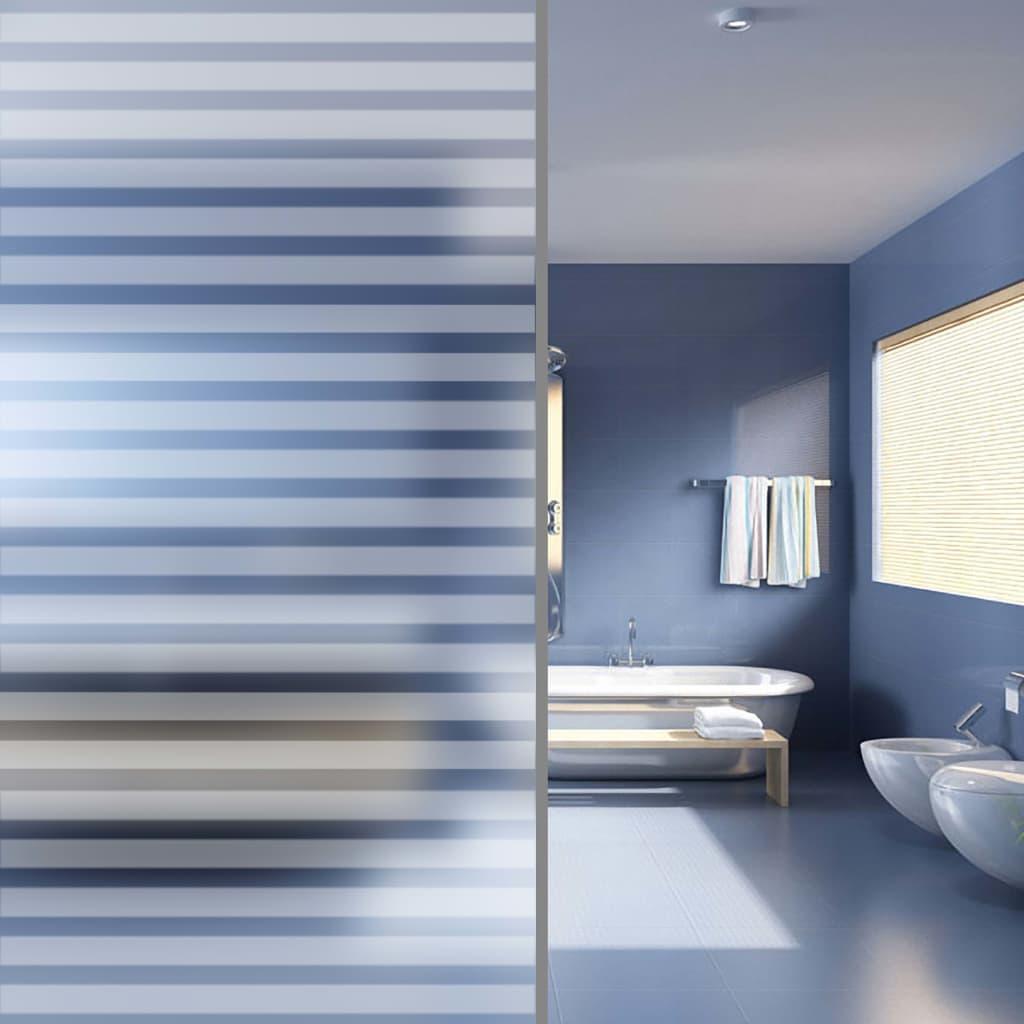 Frosted Privacy Window Film Klebestreifen 0,9x50 m
