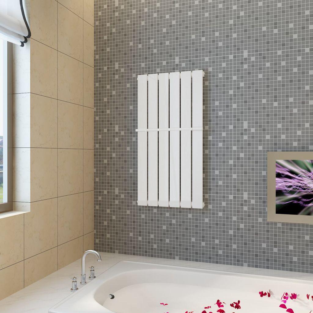 Ράφι πετσέτα θέρμανσης 465 mm + πάνελ θέρμανσης λευκό 465 mm x 900 mm