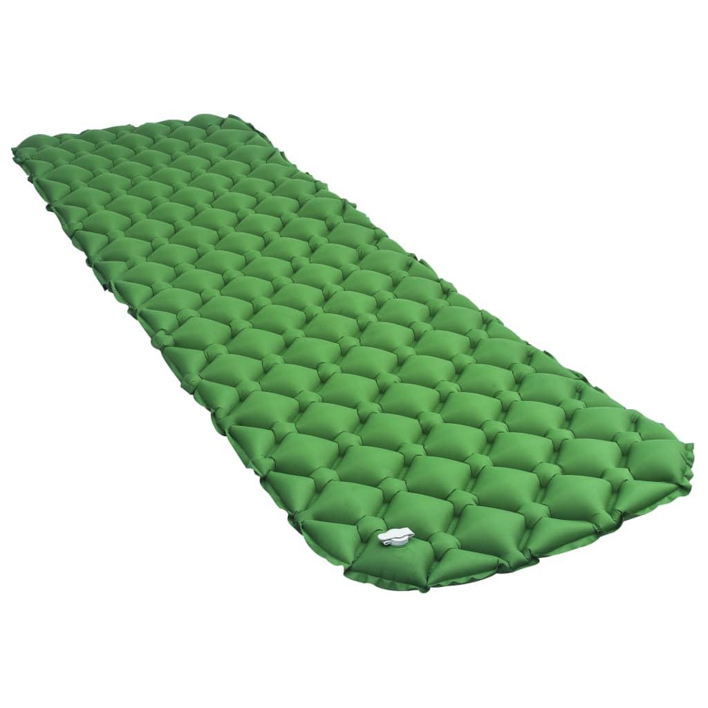 Materasso ad aria gonfiabile 58x190 cm Verde