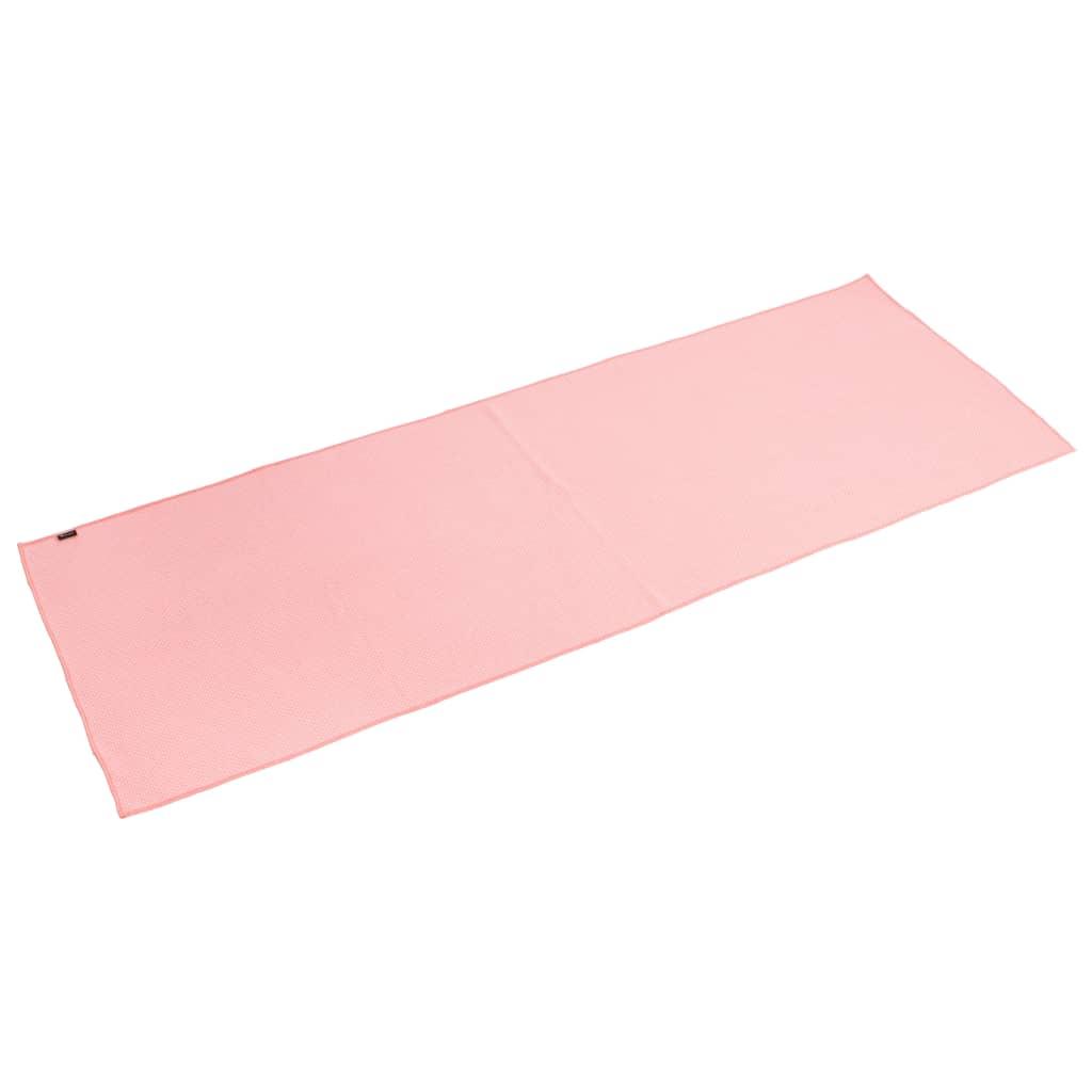 Pure2Improve Yoga Полотенце противоскользящее розовое