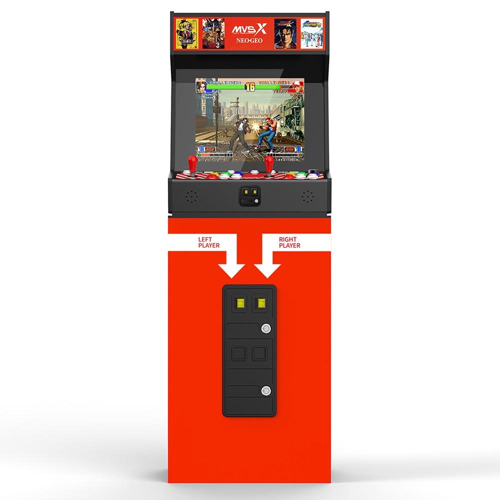 SNK MVSX Arcade Machine + Stand Combo 50 SNK Classic Games - Neo Geo Pocket