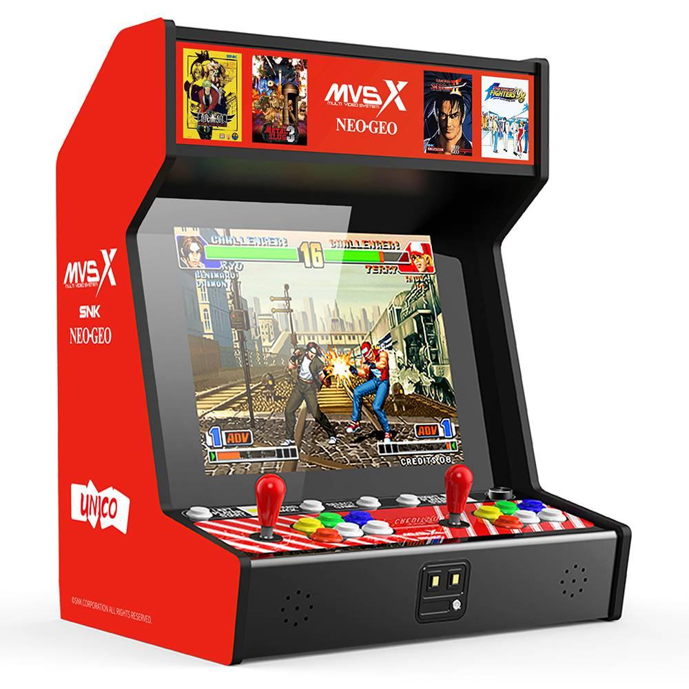 SNK MVSX Arcade Machine 50 SNK Classic Games - Neo Geo Pocket