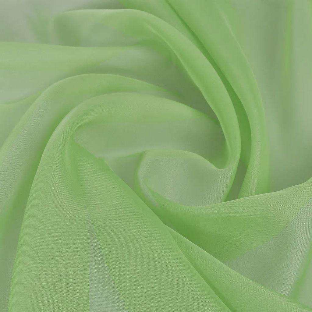 Tessuto Voile 1.45 x 20 m Verde