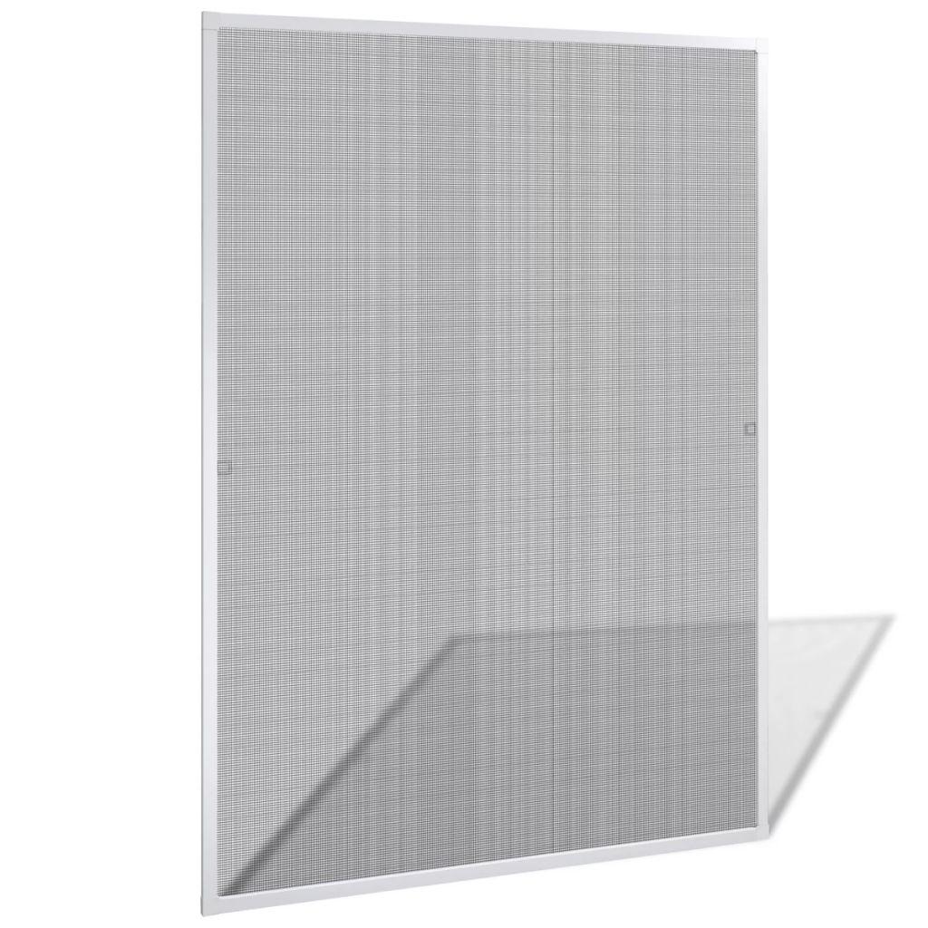 Windows用の白い昆虫スクリーン120x 140 cm