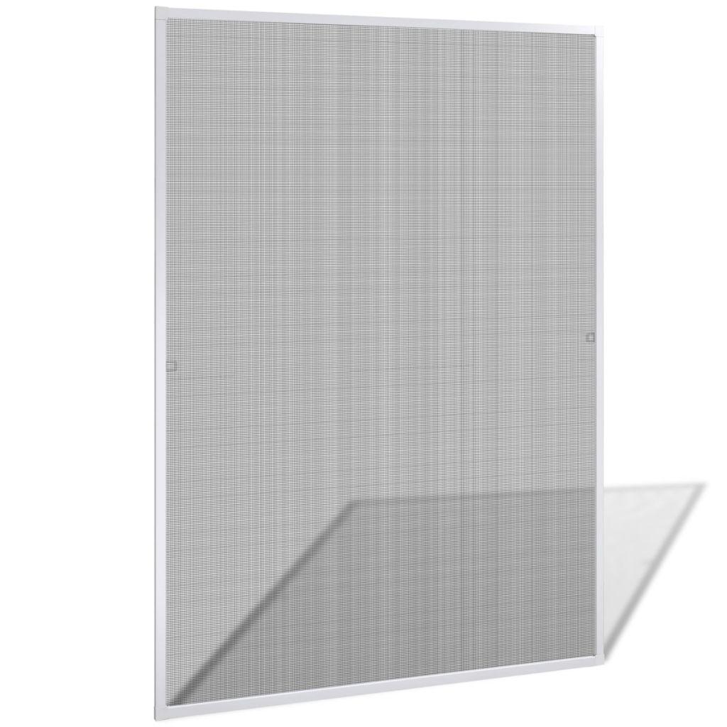 Windows用の白い昆虫スクリーン130x 150 cm