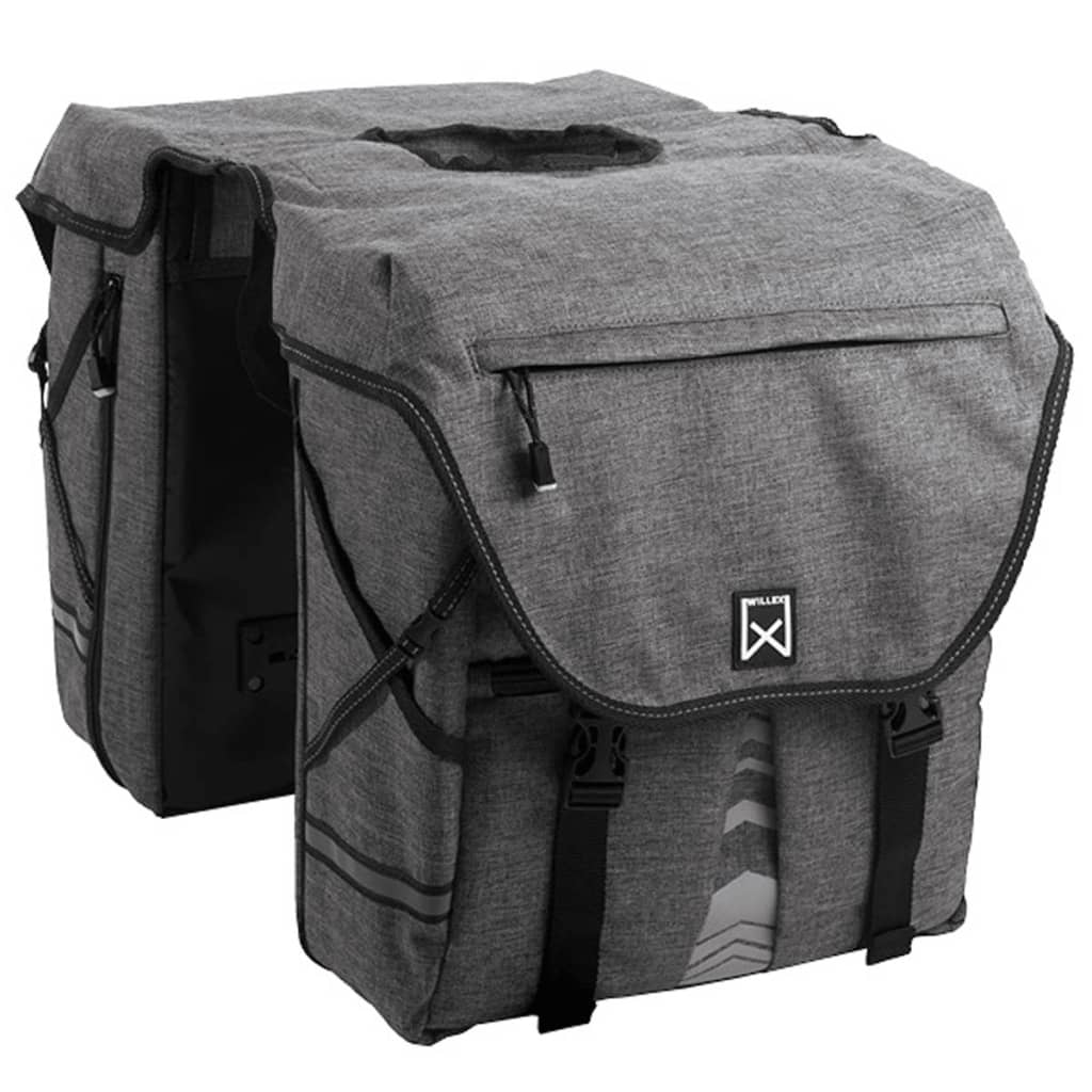 Willex Bicycle Panniers 1200 50L無煙炭13613