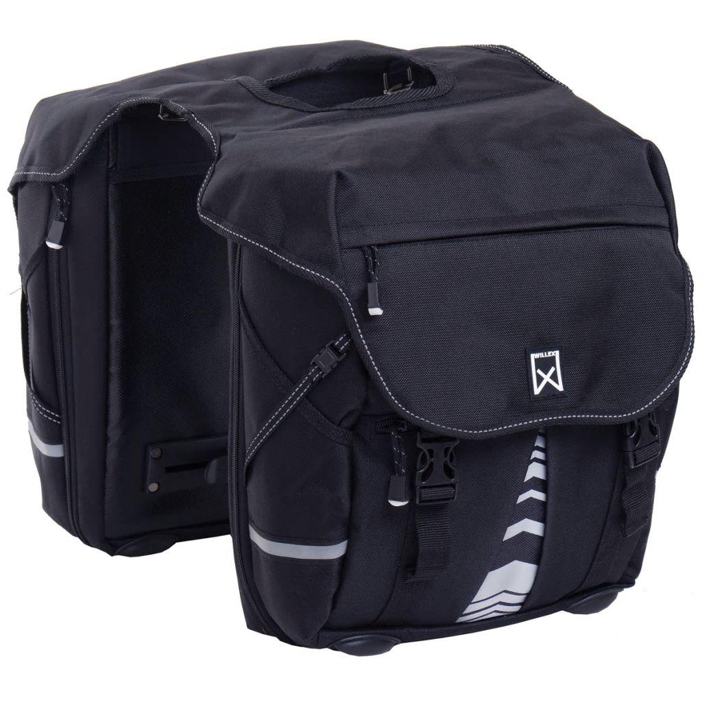 Willex Bicycle Panniers XL 1200 50 L Black 13611