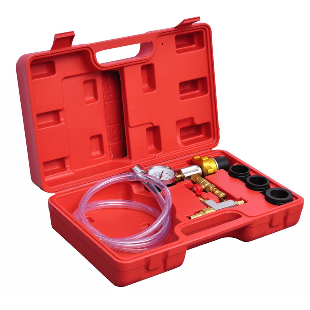 Kit de purge et de remplissage sous vide du système de refroidissement du radiateur 6 pièces