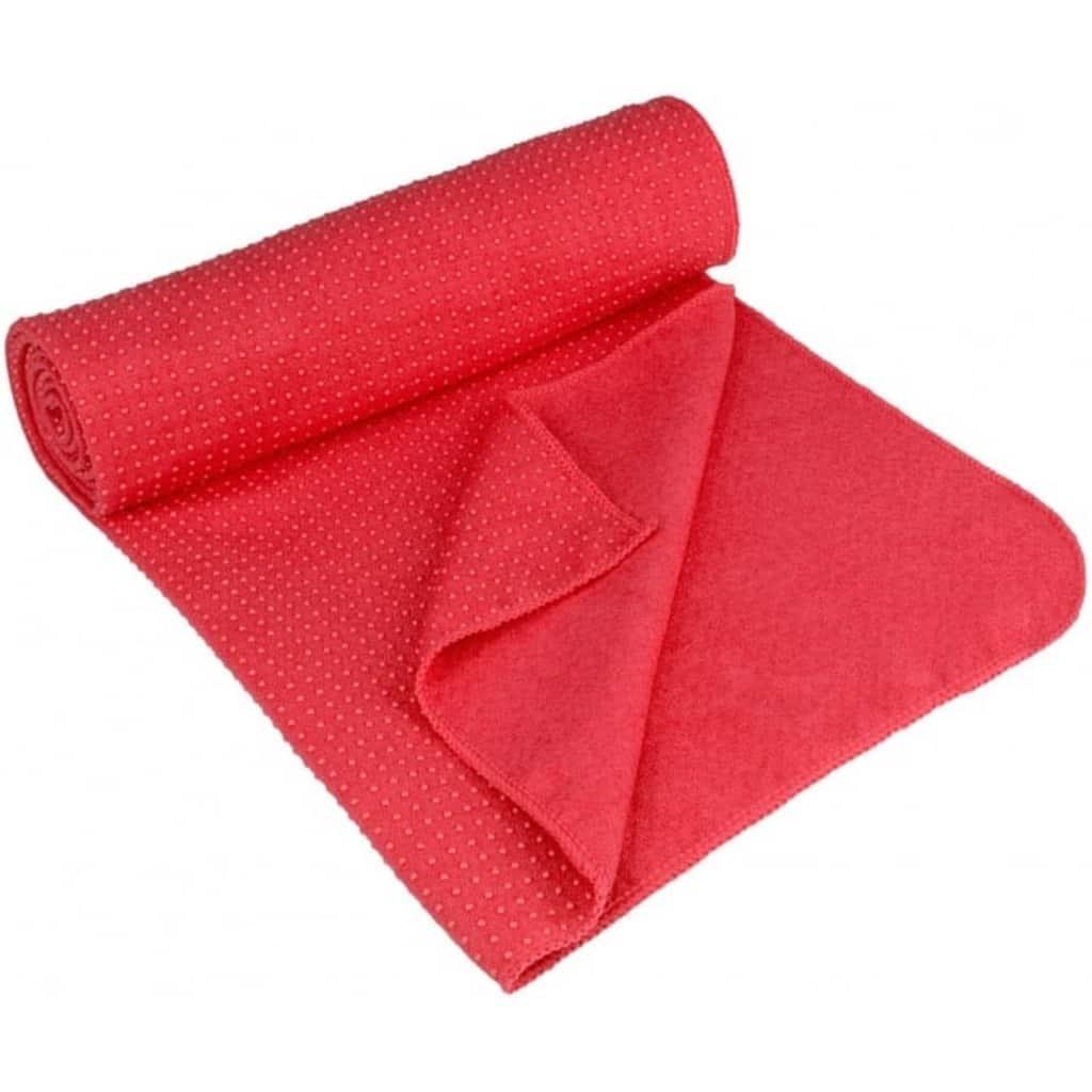 Полотенце для йоги Avento Anti Skid Aura Pink