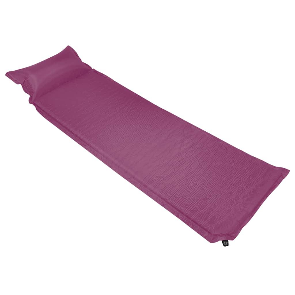 Materasso ad aria gonfiabile con cuscino 66x200 cm Rosa