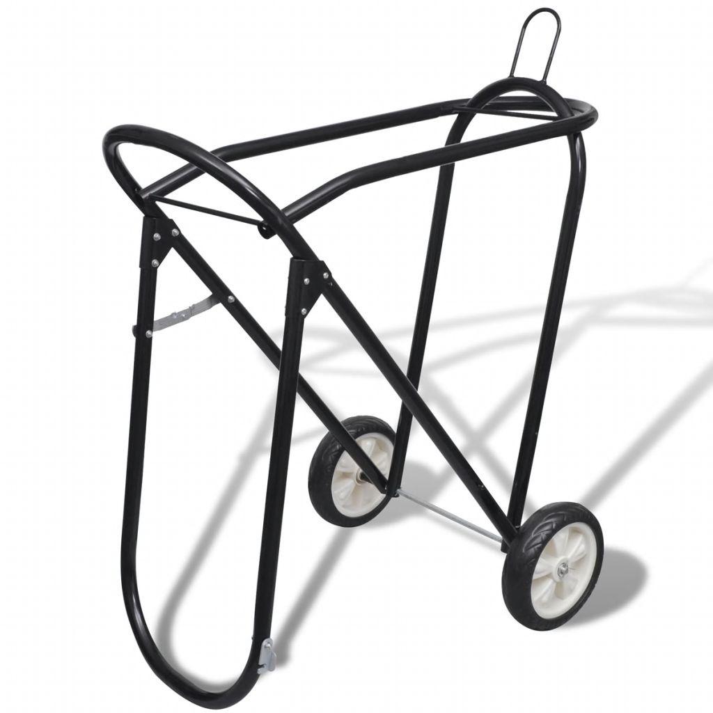 سرج معدني قابل للطي مع عجلات