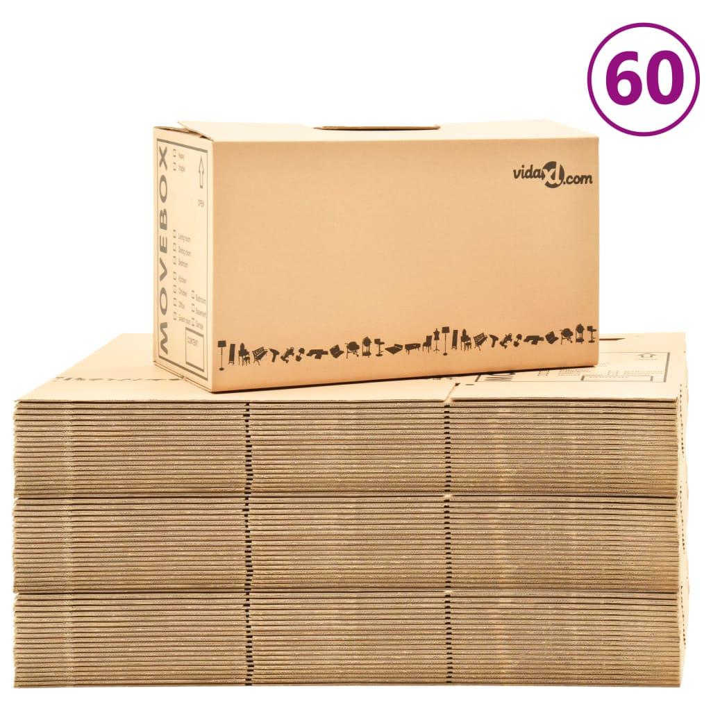 Коробки Коробки XXL 60 шт. 60x33x34 см