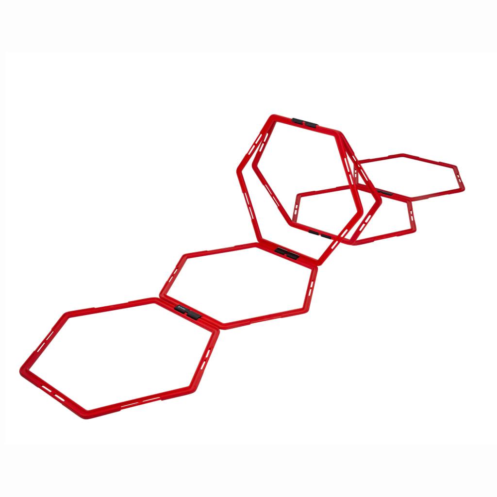 Pure2Improve Hexagon Agility Grid 6 шт Красный