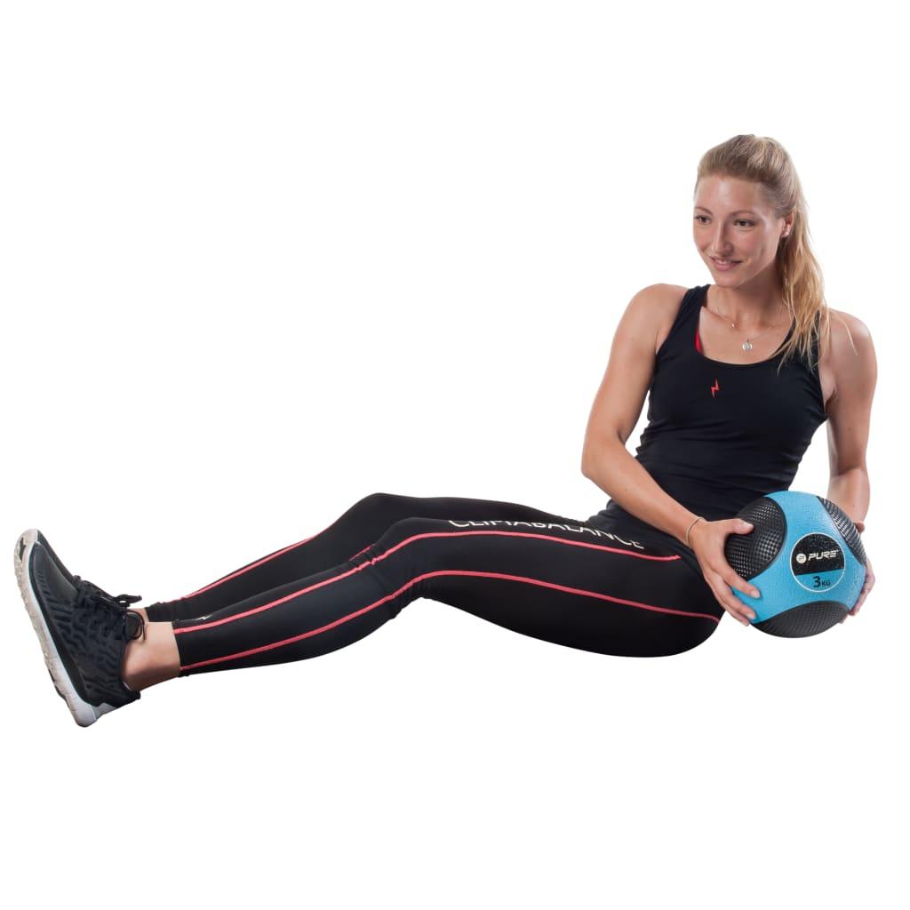 Медицинский мяч Pure2Improve 3 кг синий