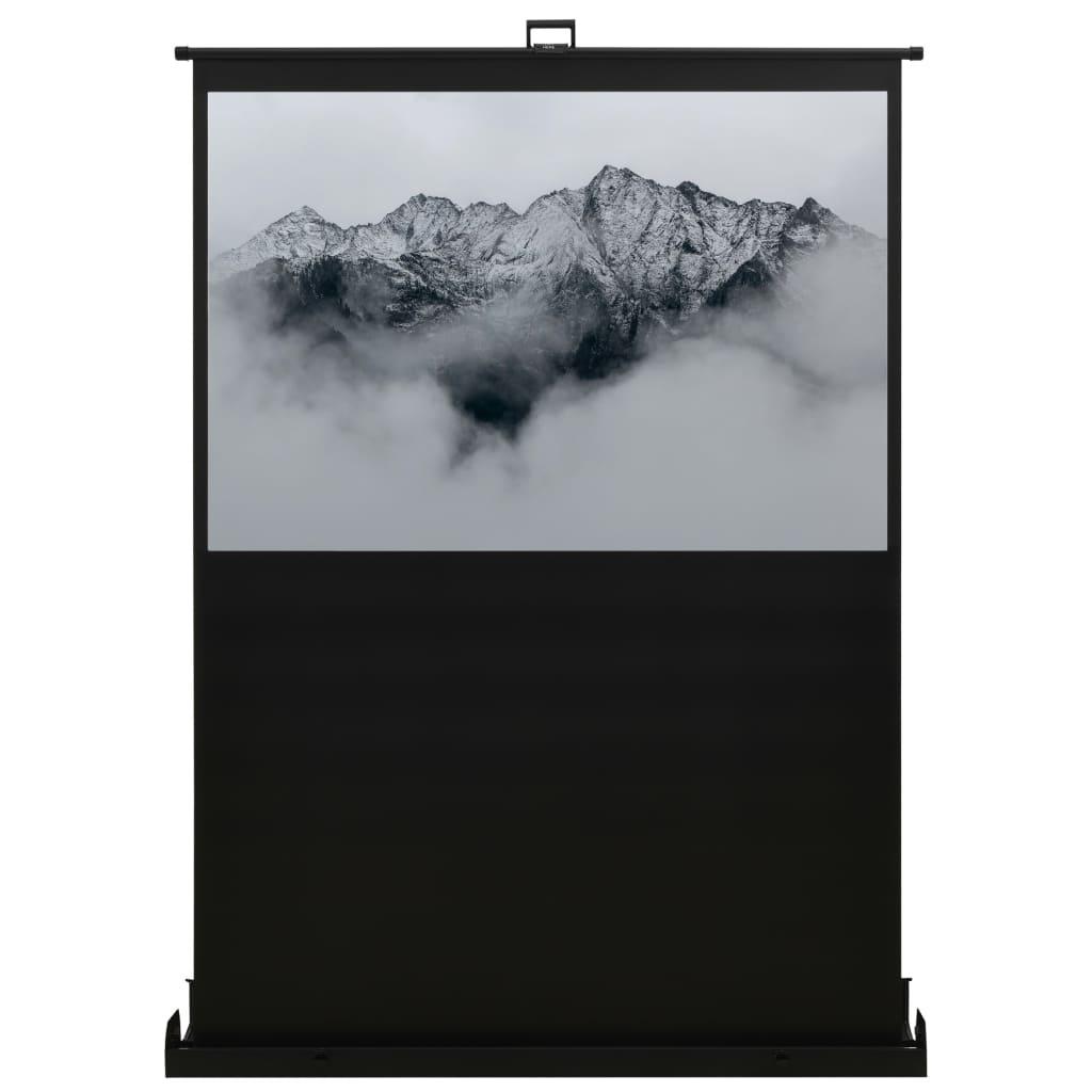 Проекционный экран, поднимающийся с пола, 60 дюймов, 16: 9