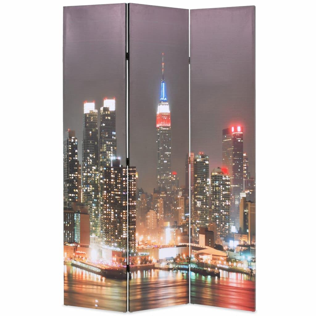 Cloison pliante 120x170 cm New York by Night