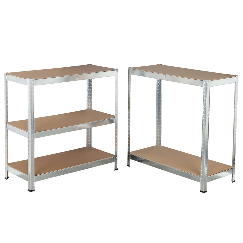 Gabinete de prateleira para serviço pesado HI 180x90x40 cm