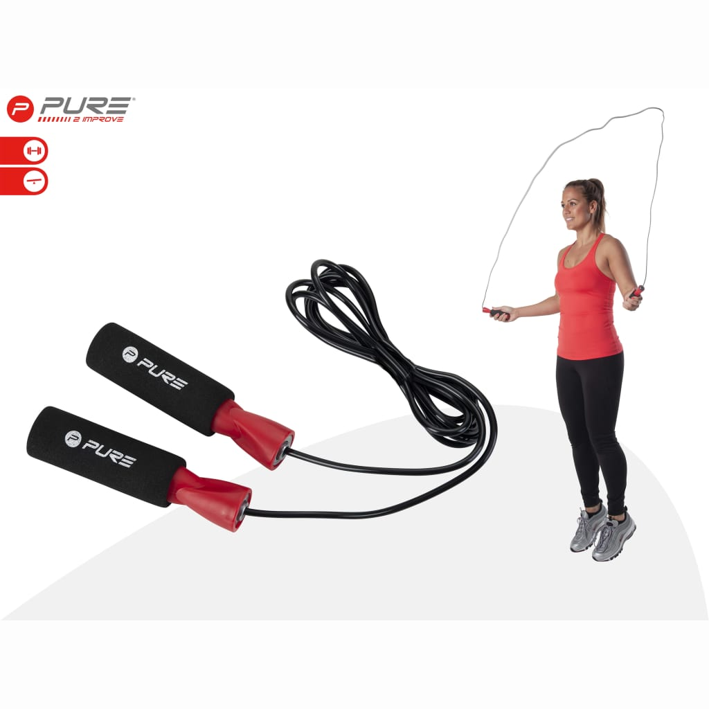 Pure2Improve Jumping Rope with Bearings  2.5 m