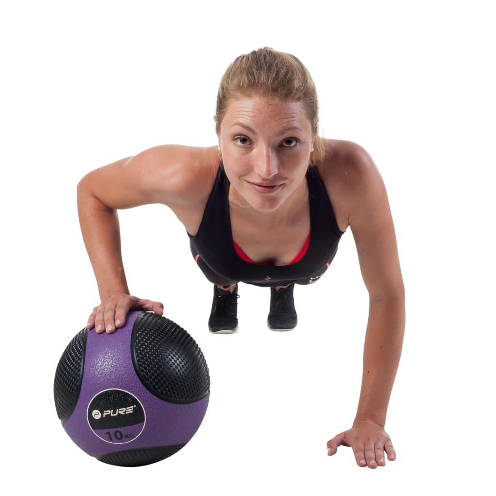 Pure2Improve Medicine Ball 10 kg Μωβ