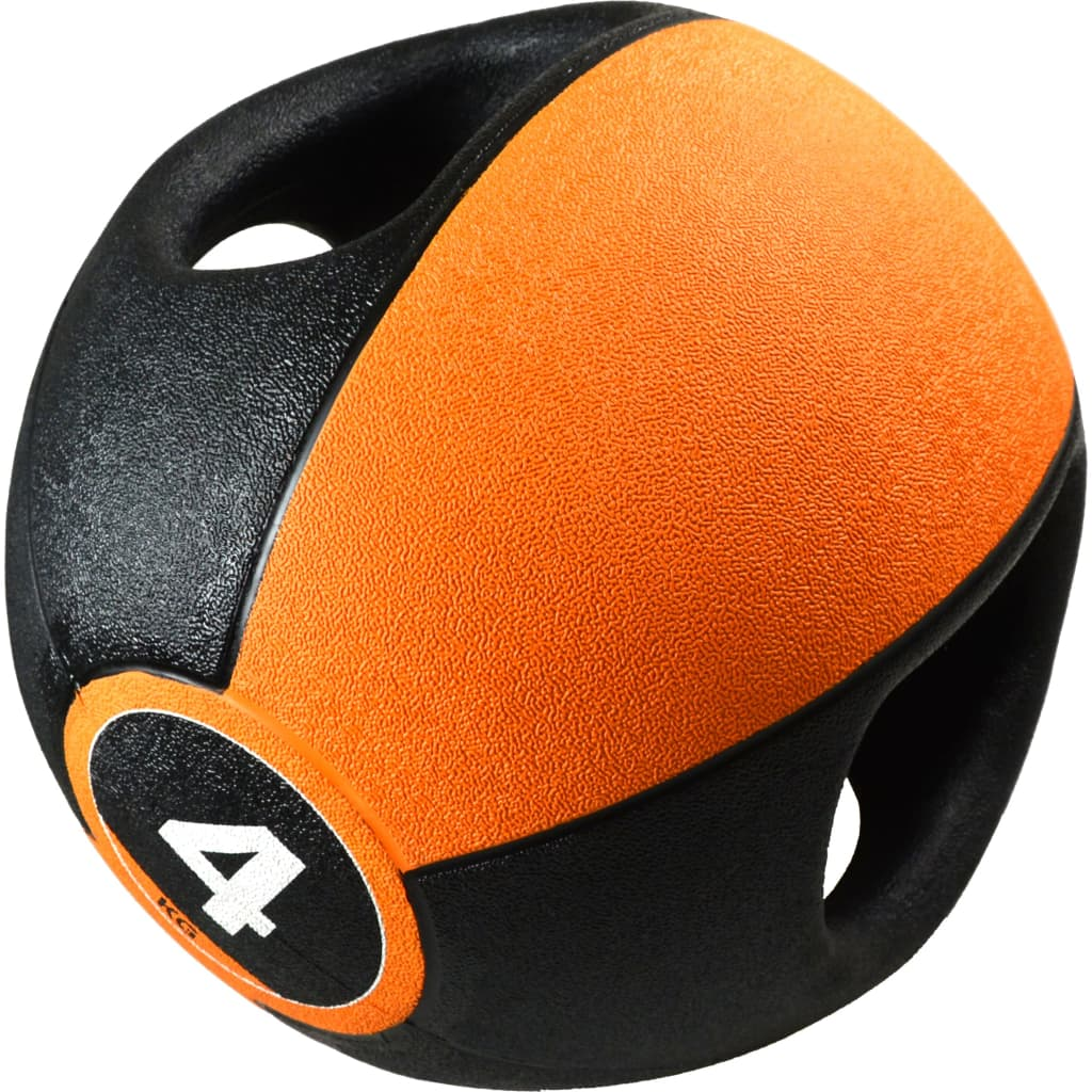 Pure2Improve Medicine Ball with Handles 4 kg Orange