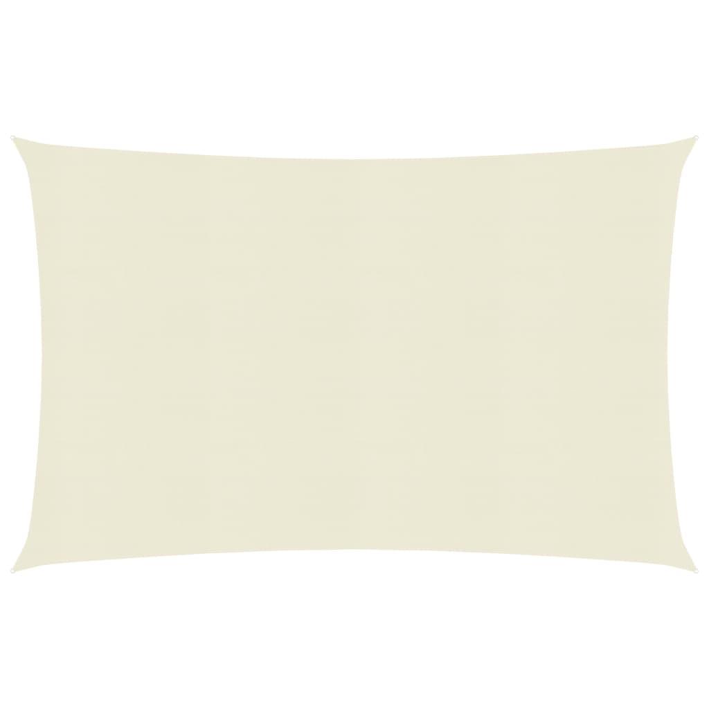 Pare-soleil Voile 160 g / m² Crème 3x6 m PEHD