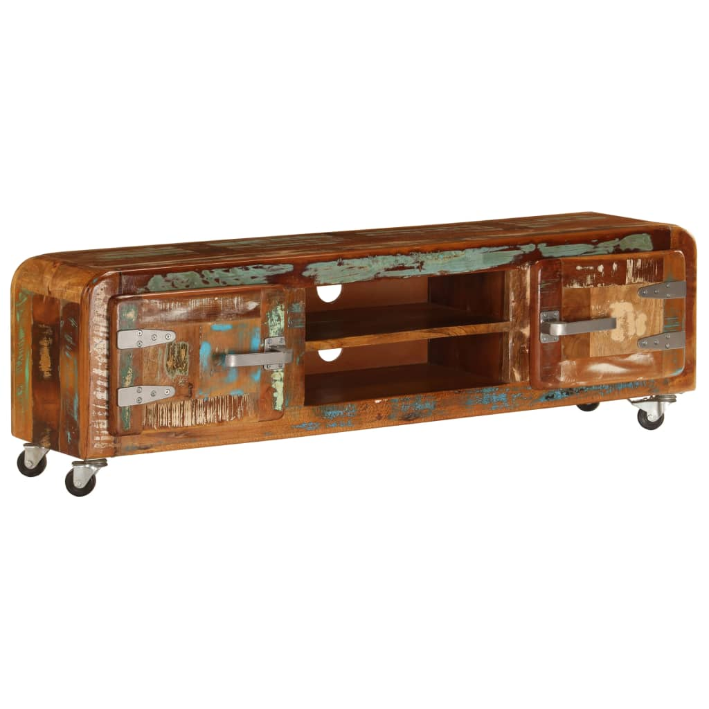 TV Cabinet 120x30x36 cm Solid Reclaimed Wood
