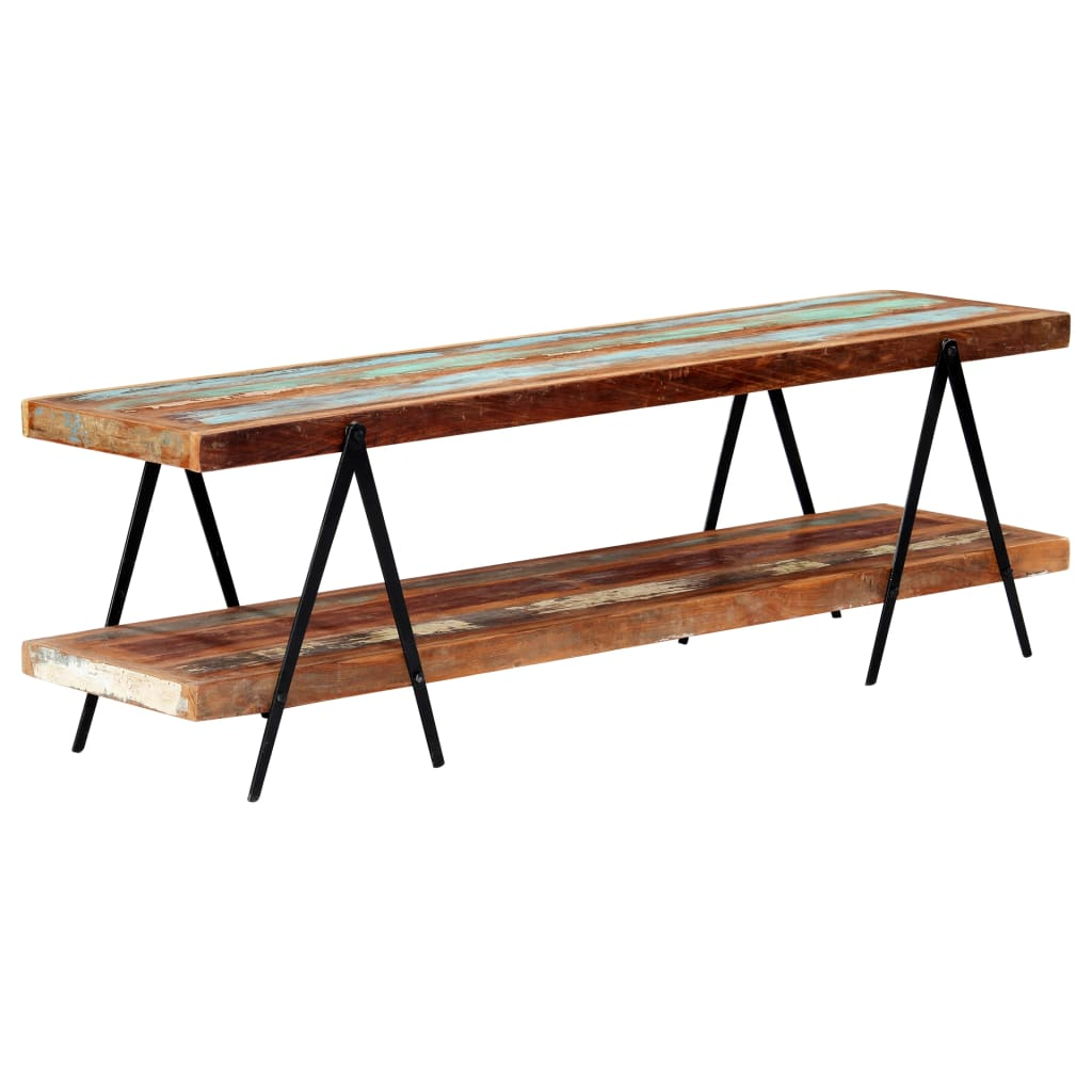 TV Cabinet 160x40x50 cm Solid Reclaimed Wood