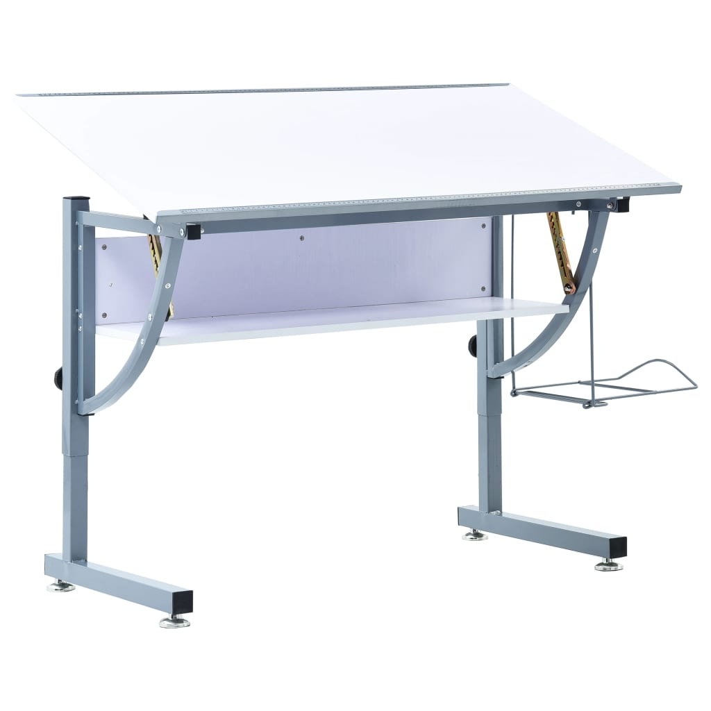 Teenager's Drafting Table White 110x60x87 cm MDF
