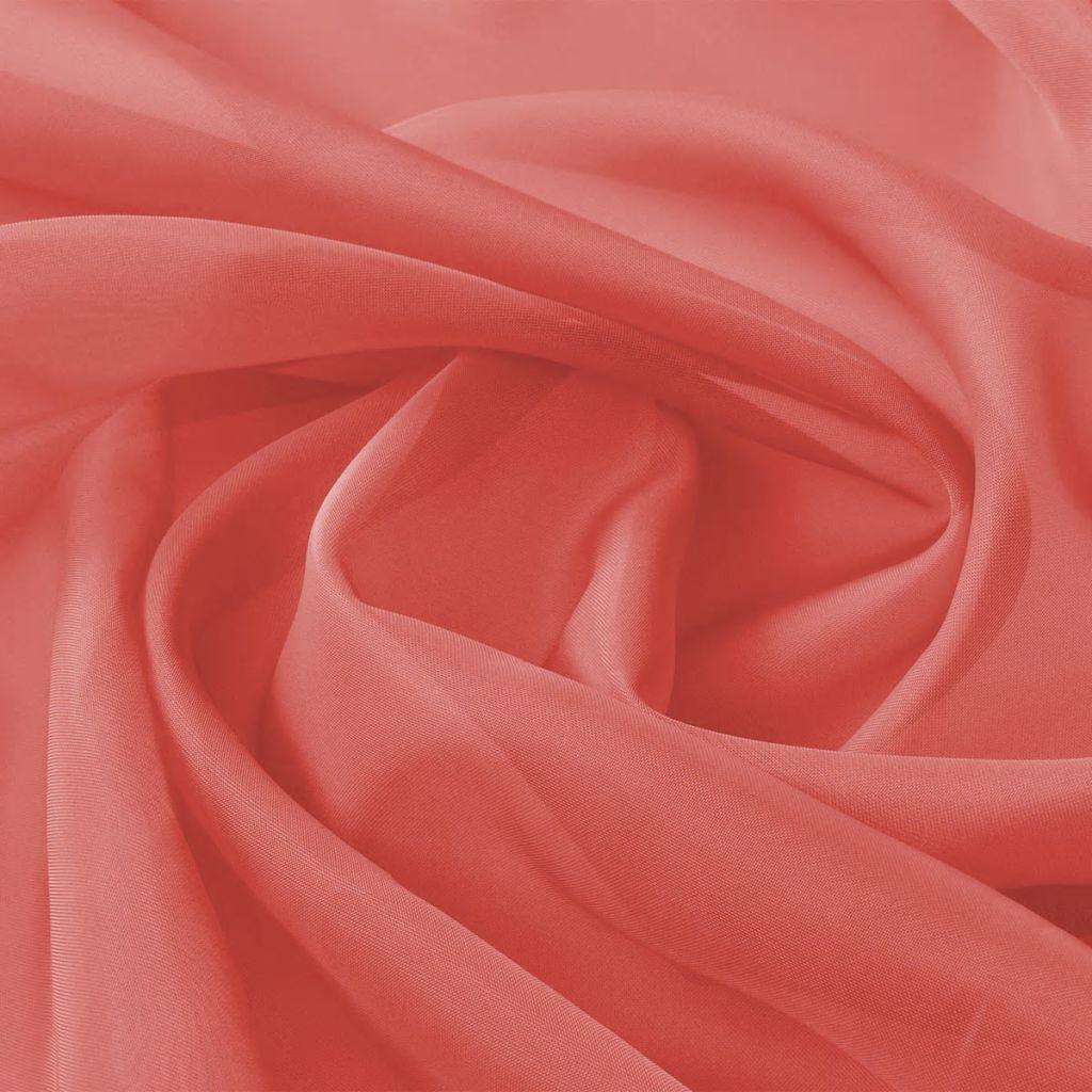 Tessuto Voile 1.45x20 m Rosso