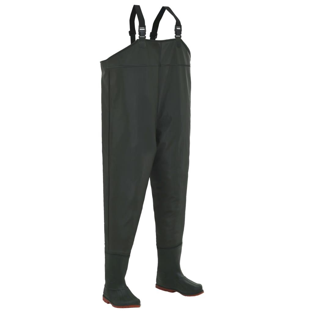 سروال طويل مع جزمة أخضر مقاس 45