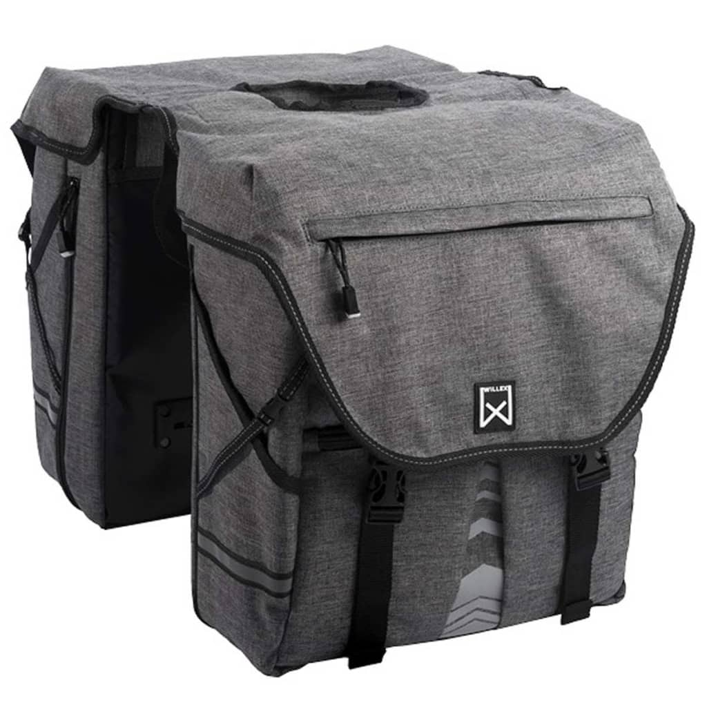 Willex Bicycle Panniers 1200 28L無煙炭13313