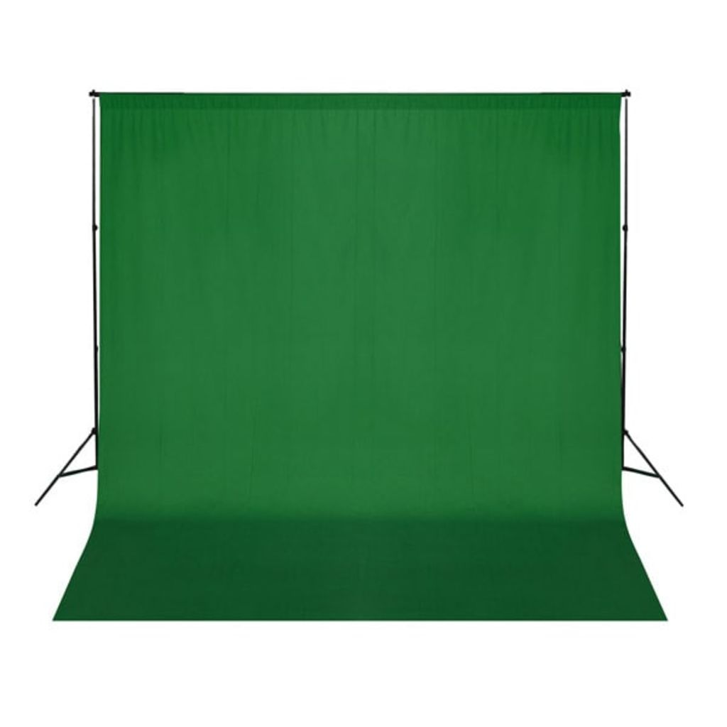 Backdrop Cotton Green 300x300 cm Chroma Key
