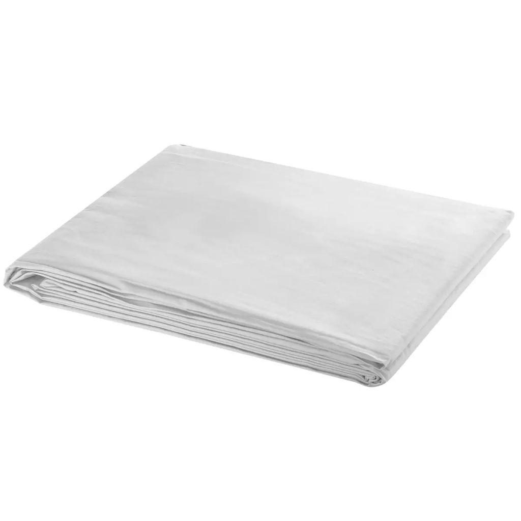 Toile de fond Coton Blanc 600x300 cm