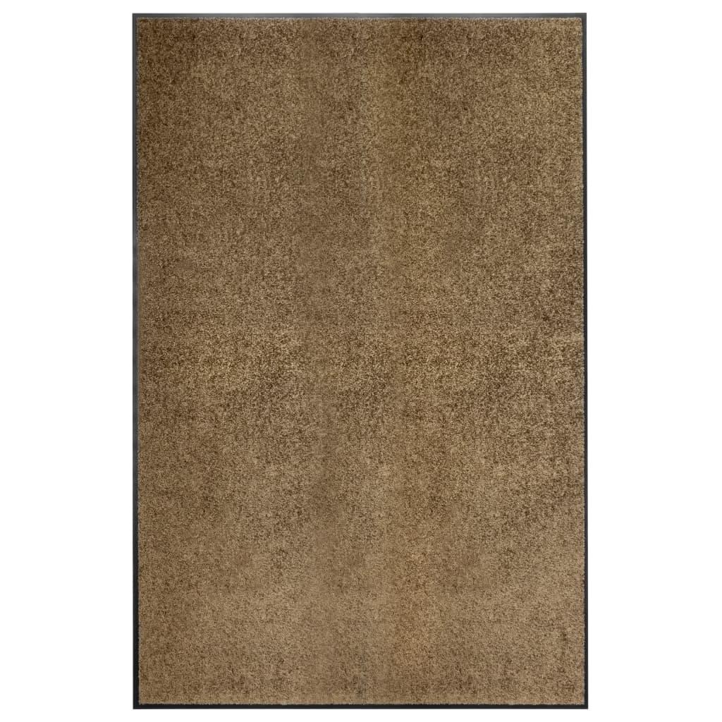 Paillasson Lavable Marron 120x180 cm