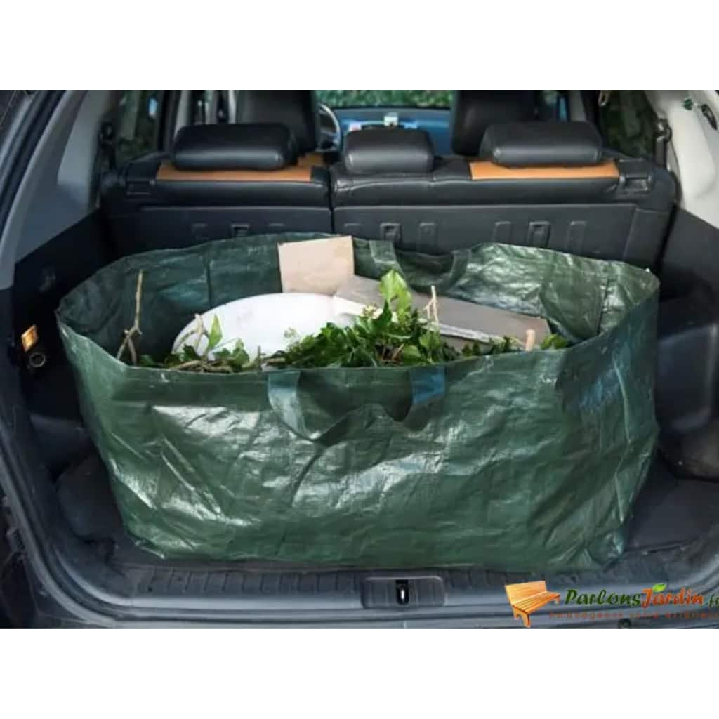 ネイチャーガーデンゴミ袋長方形225Lグリーン