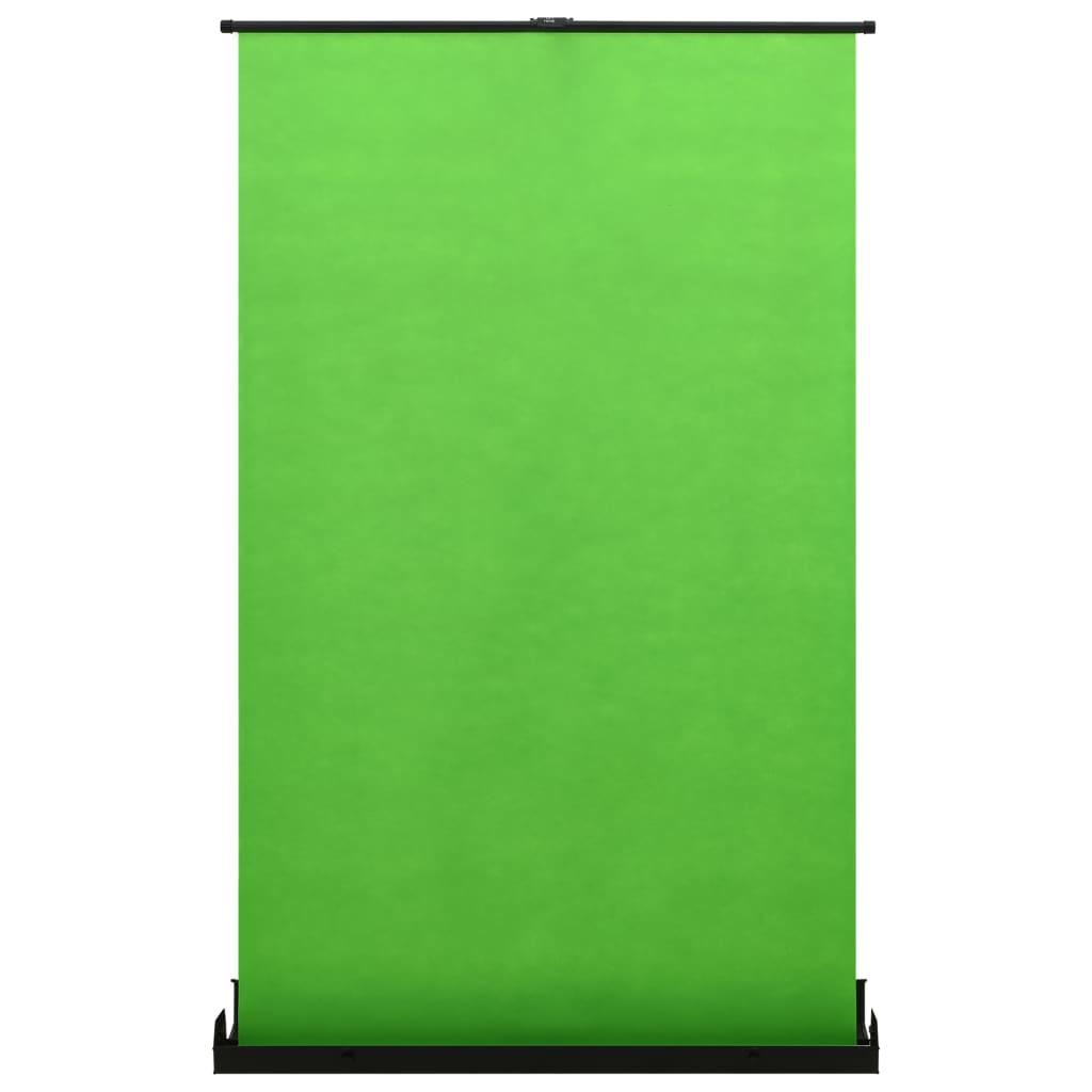 """Toile de fond de photographie vert 55 """"4: 3"""