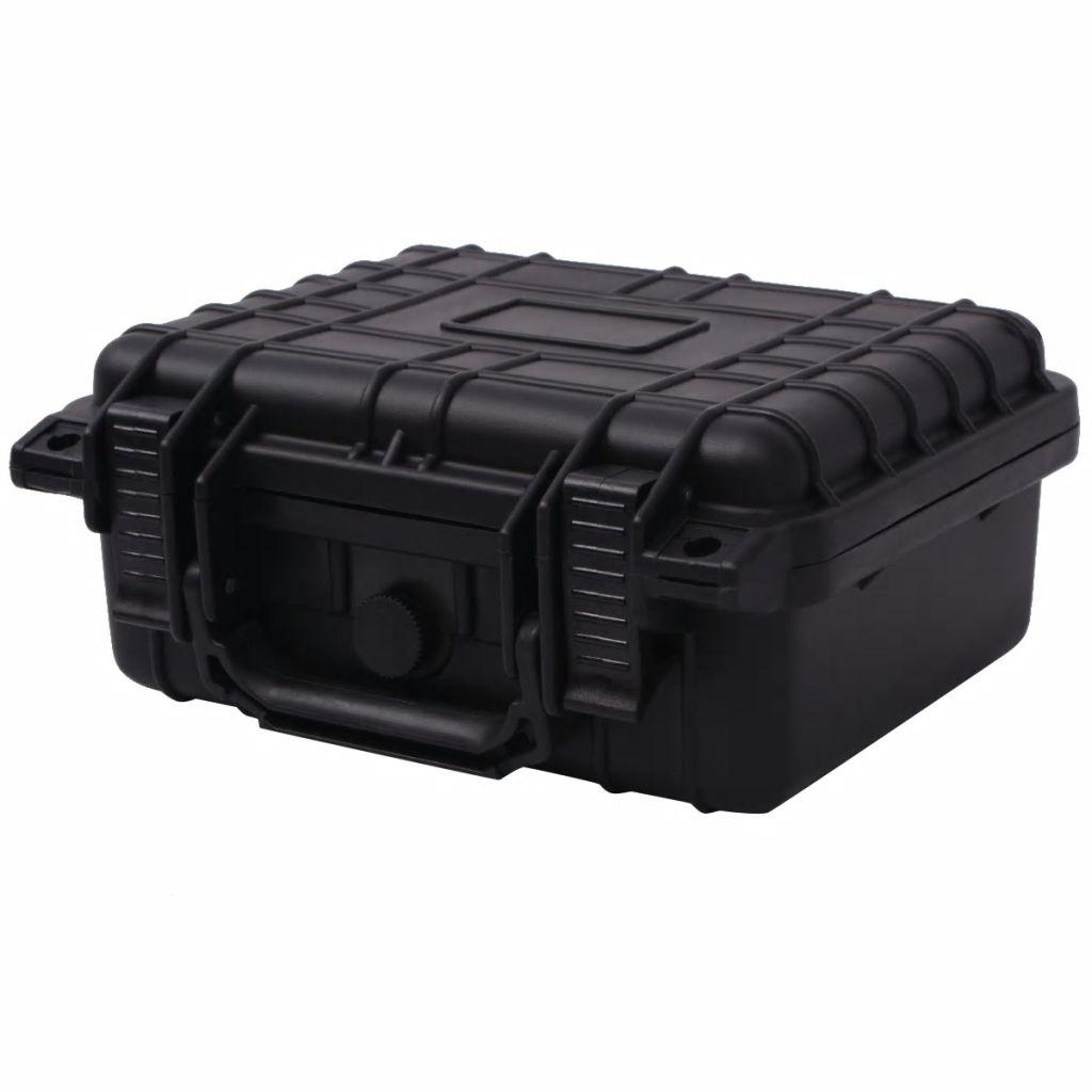 Étui de protection 27x24.6x12.4 cm noir