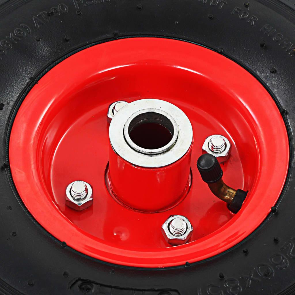 Sackkarrenrad bollerwagenrad Sack Trucks Wheels PU 3.00-4 Yellow 260mm Wheel 2 Piece