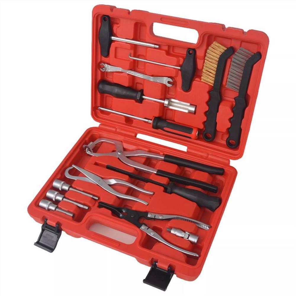 Набор инструментов для обслуживания и сборки тормозов из 15 предметов