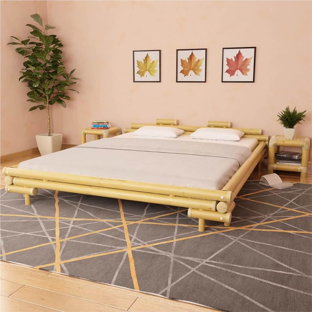 Cadre de lit Bambou 180x200 cm 6FT Super King