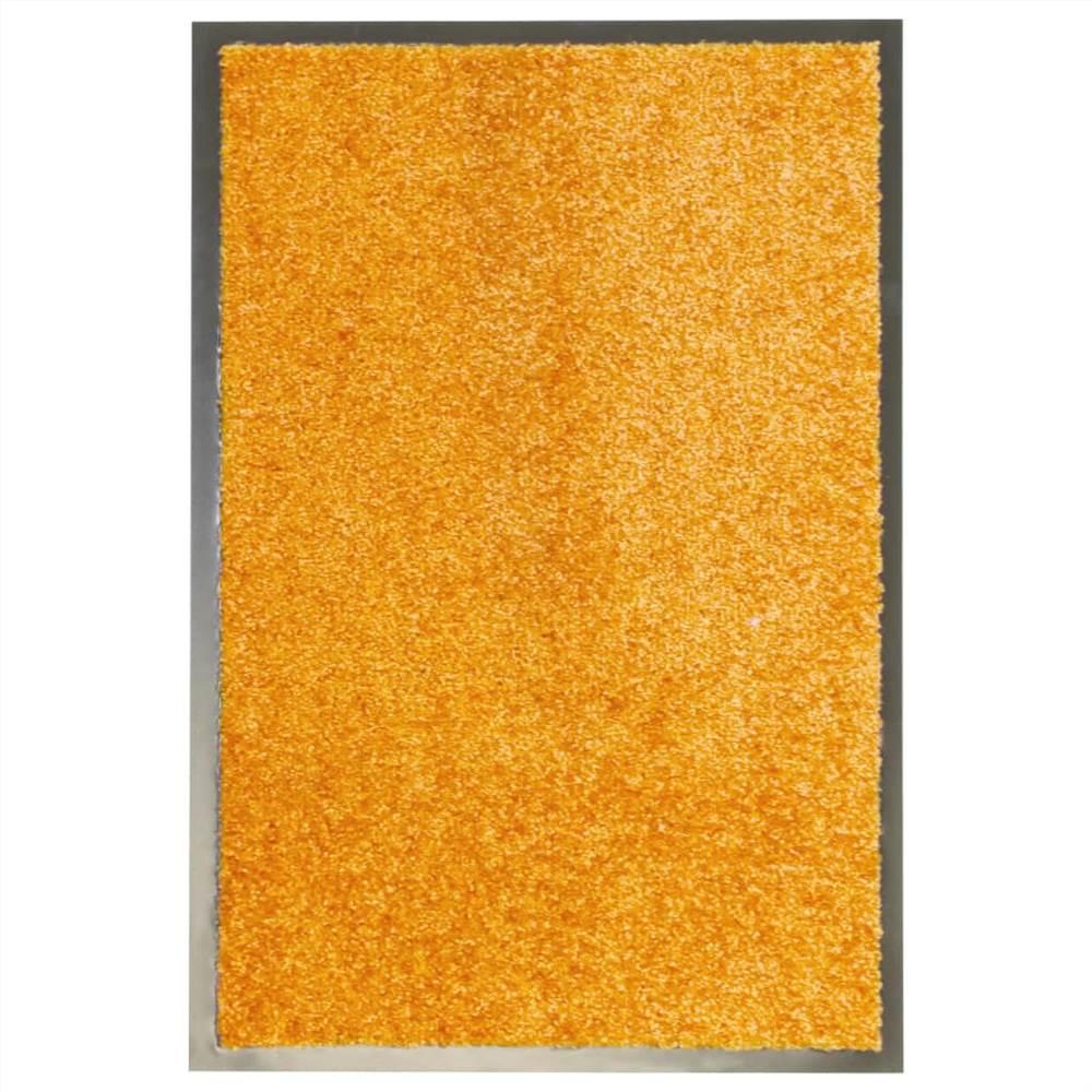 Paillasson Lavable Orange 40x60 cm