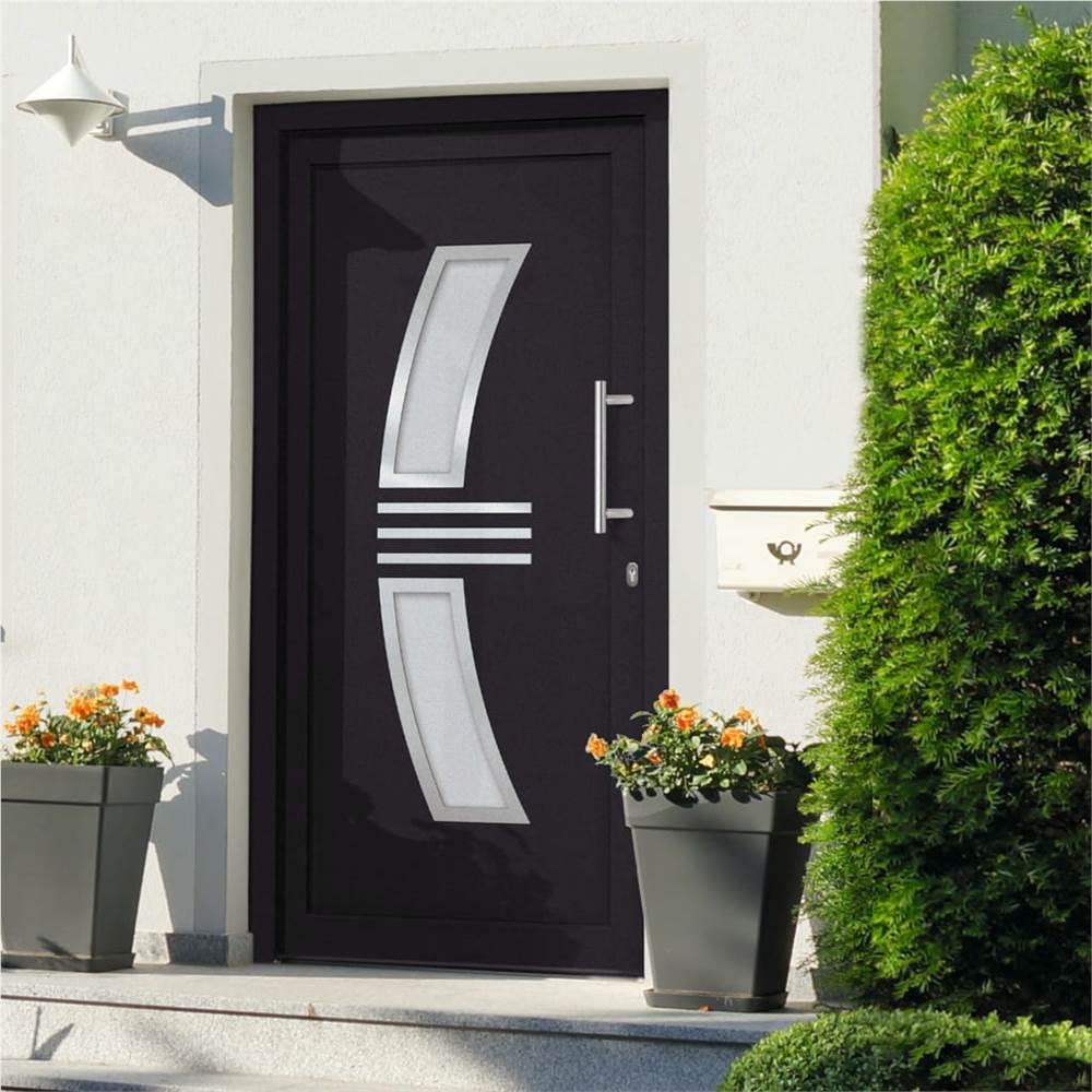 Front Door Anthracite 98x208 cm