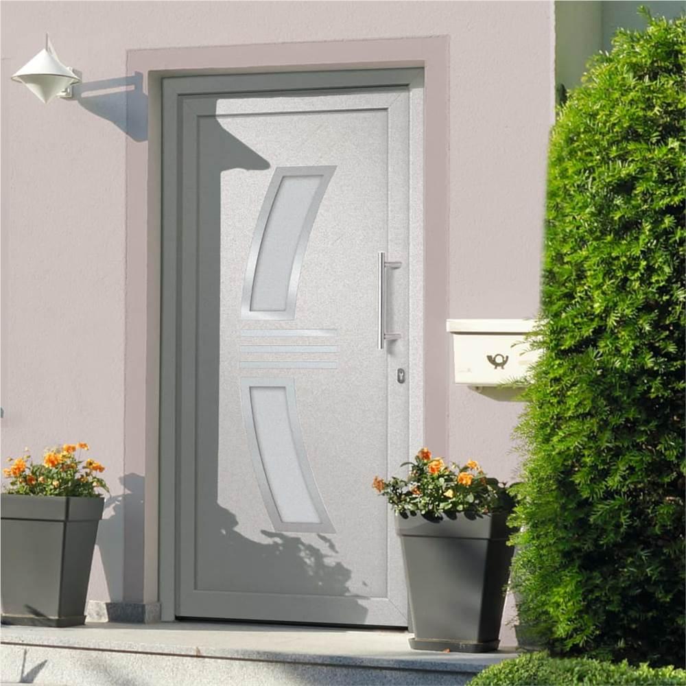 Front Door White 98x200 cm