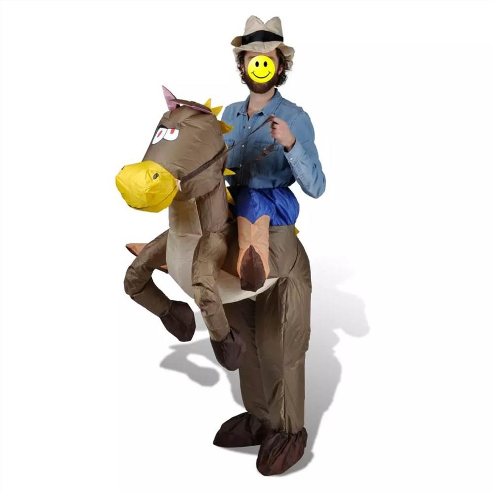 Φουσκωτή φορεσιά Cowboy και Horse