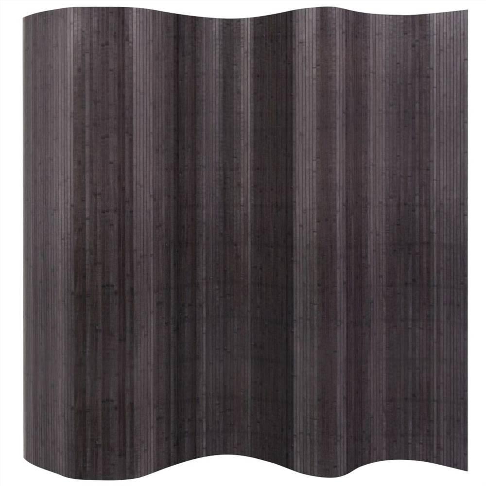 Paravent Bambou Gris 250x165 cm