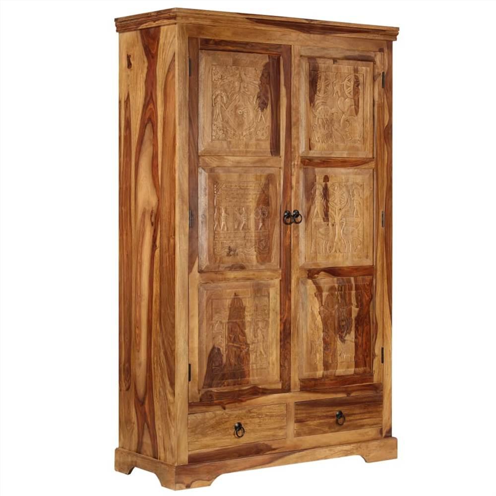 Aparador 110x45x80 cm Sheesham Wood maciço